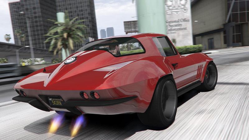 1966 Corvette Stingray >> GTA 5 1966 Chevrolet Corvette StingRay (from Fast ...