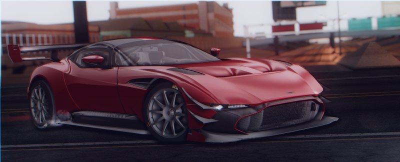 Gta San Andreas Aston Martin Vulcan Amr Pro 18 Mod Gtainside Com