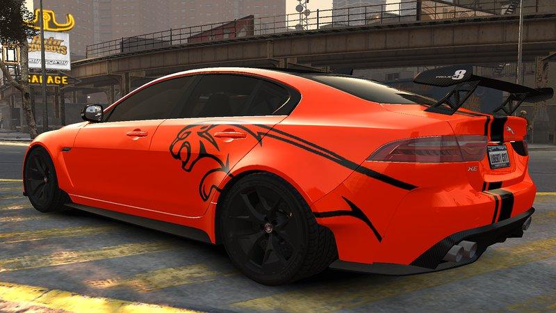 Gta 4 2017 Jaguar Xe Sv Project 8 V11 Mod Gtainside