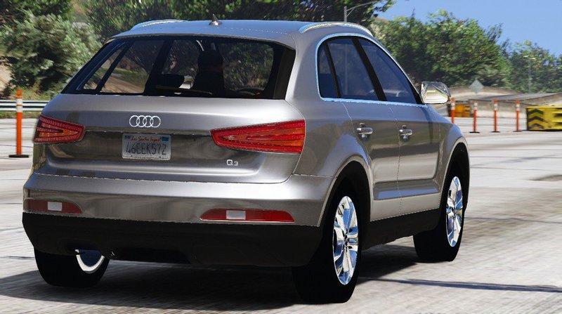 GTA 5 Audi Q3 (Add-on / Replace) Mod - GTAinside com