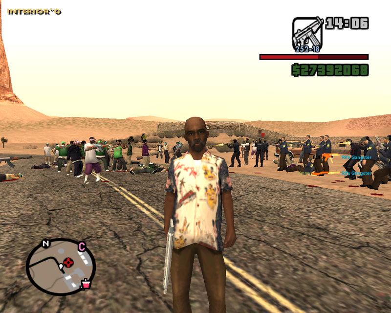 GTA San Andreas New Actor Spawner with Menus v6 5 + Never Die
