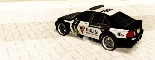 Karin Sultan Police Car