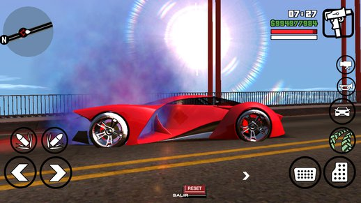 X 80 Proto from GTA V for Android Dff