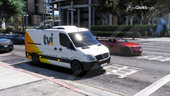 Portuguese Social Communications Service - Mercedes-Benz Sprinter Low Roof [Replace | Livery] v1.0