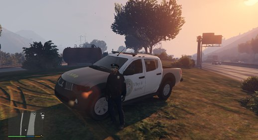 Mitsubishi L200 - LSPD (Lore Friendly) Police car