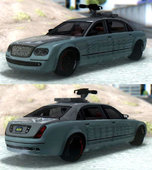 GTA V Enus Cognoscenti Limo Turreted