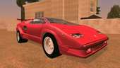 Lamborghini Countach For Android Dff Only