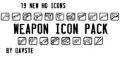 HQ Weapon Icon Pack V1