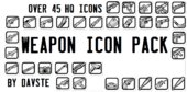 45 HQ Weapon Icons V3