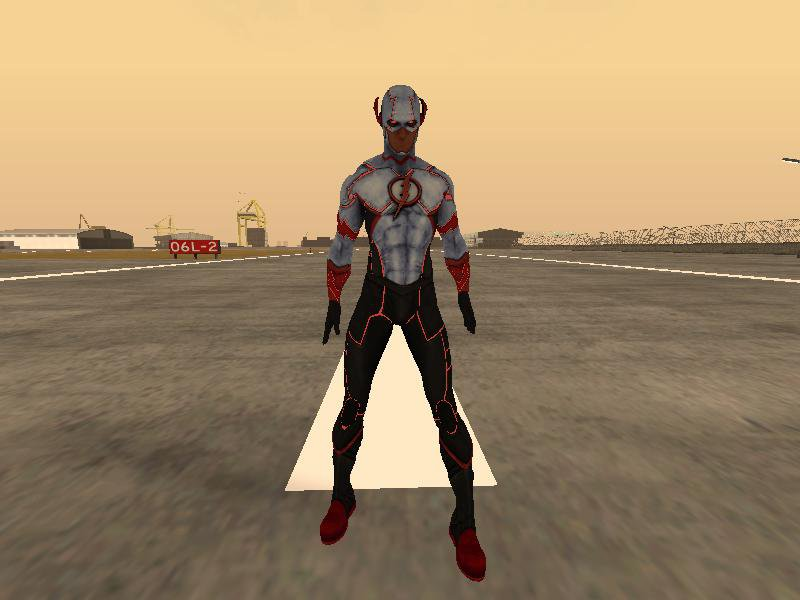 GTA San Andreas Future Wally West New 52 issue 35 Mod