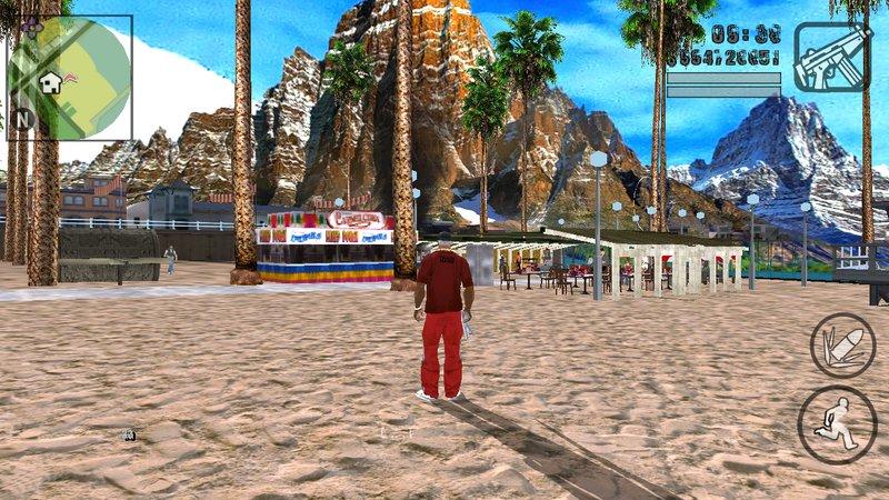 Santa Maria and Verona Beach HD ...