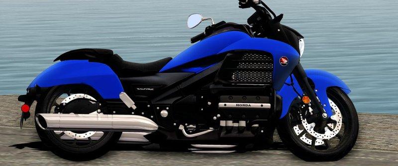 GTA San Andreas Honda Valkyrie GL1800C 2015 Mod - GTAinside com
