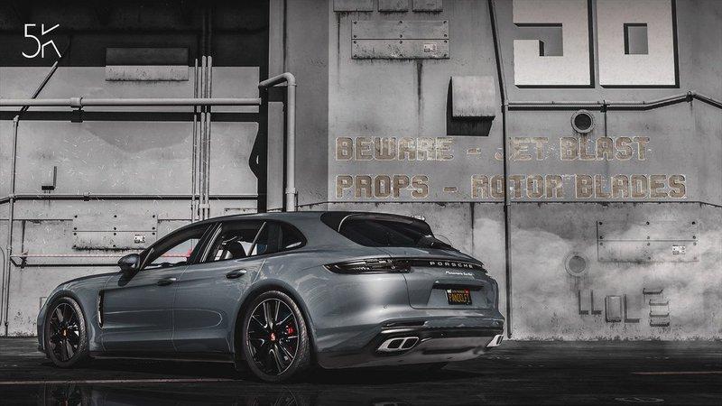 Porsche Panamera Turbo Sport Turismo 2017 Add On Replace