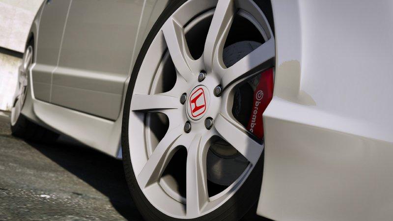 GTA 5 2008 Honda Civic Type-R (FD2) [RHD | Mugen | J'S Racing] Mod