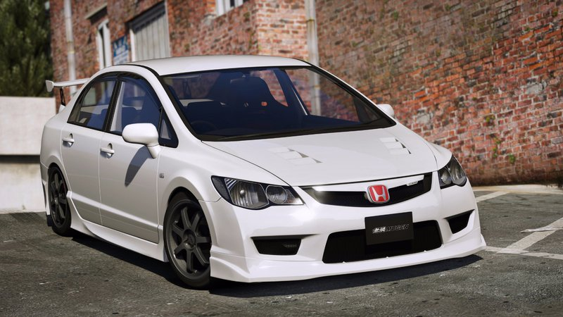 GTA 5 2008 Honda Civic Type-R (FD2) [RHD | Mugen | J'S Racing] Mod - GTAinside.com