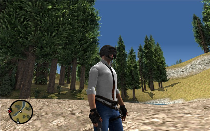 GTA San Andreas Character Pubg Mod - GTAinside com