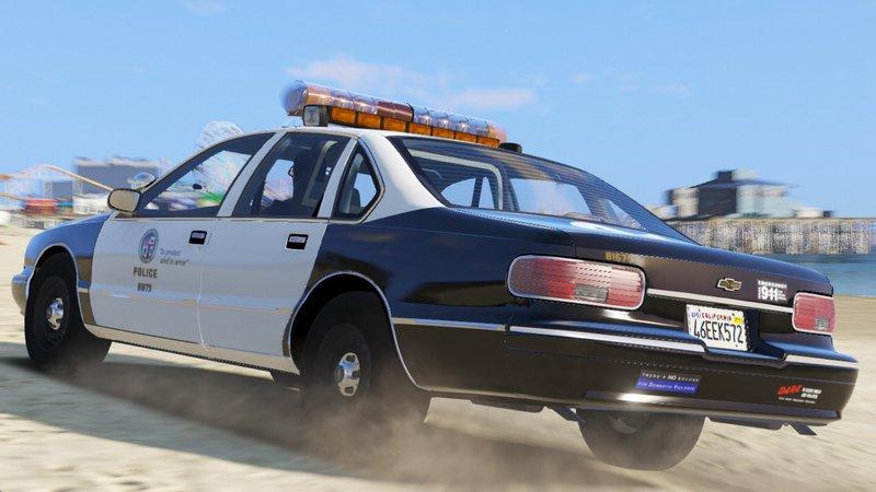 Gta 5 Els 1995 Chevy Caprice 9c1 Los Angeles Police