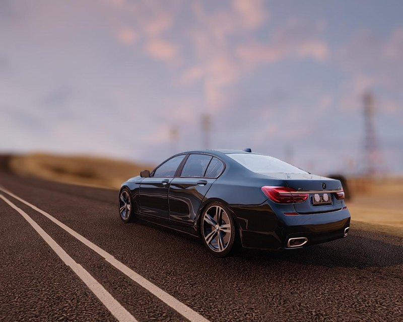 GTA San Andreas 2017 BMW 760i Mod