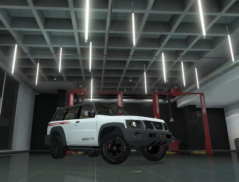GTA 5 Nissan Patrol Super Safari VTC Y61 4800 2017 4-door [Add-On