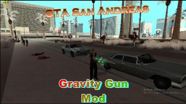 GTA San Andreas Gravity Gun Mod Mod - GTAinside com