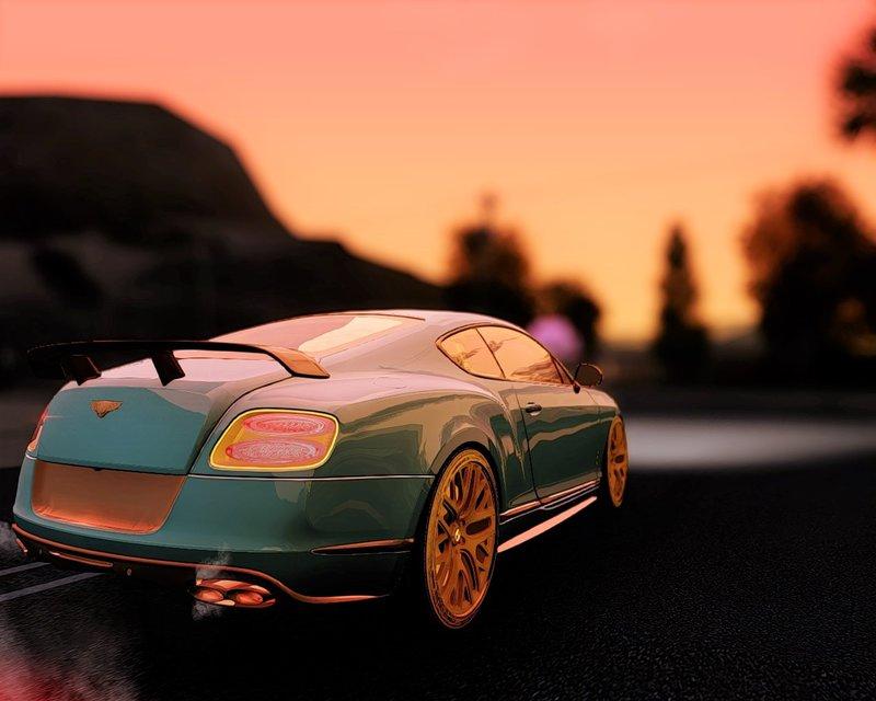 GTA San Andreas 2015 Bentley Continental GT3-R-2015 Mod - GTAinside.com