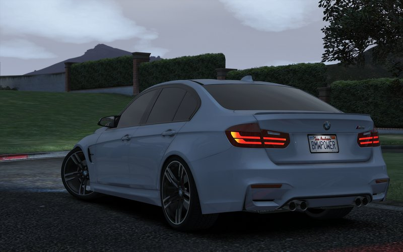 GTA 5 BMW M3 F80 2015 Add-On / Replace Mod - GTAinside.com