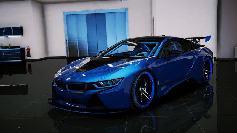 GTA 5 BMW I8 [Add-On/OIV] Mod - GTAinside com