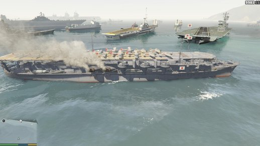 Ryujo 1944 Aircraft Carrier (add-on)