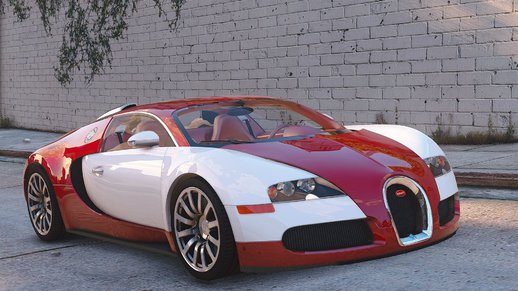 Bugatti Veyron 2009 [Add-On / Replace | Auto Spoiler | Animated] v1.1