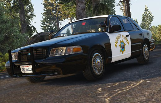 [ELS] 1999 Ford Crown Victoria P71- California Highway Patrol