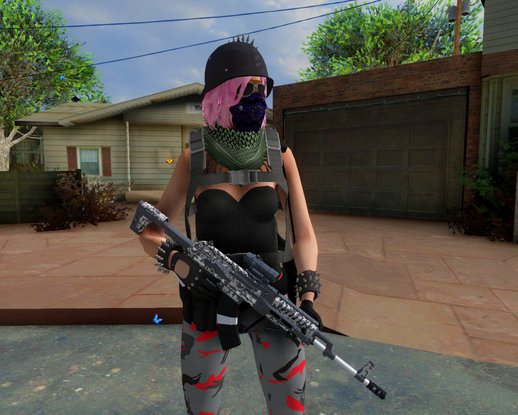 Skin Random #13 GTA V [Female]