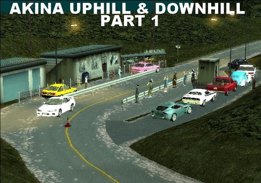 Akina Uphill & Downhill Part 1 (Dyom)
