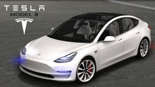 2018 TESLA Model 3 High Quality
