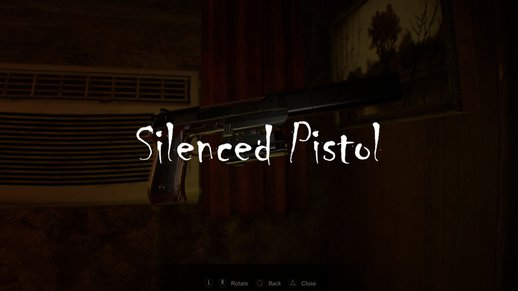 Samurai Edge Albert-01R Sound From Resident Evil 7 (Silenced Pistol)