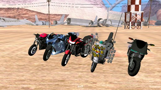 GTA 5 Motorcycle Pack For Android