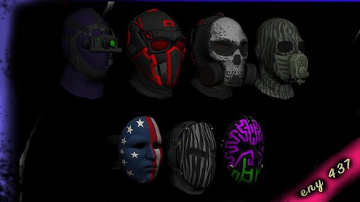 Doomsday Day Masks For Cj