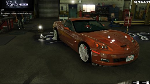 Chevrolet Corvette C6 Z06 2006 (ADD-ON)