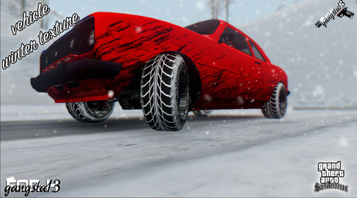 Vehicle Winter Texture