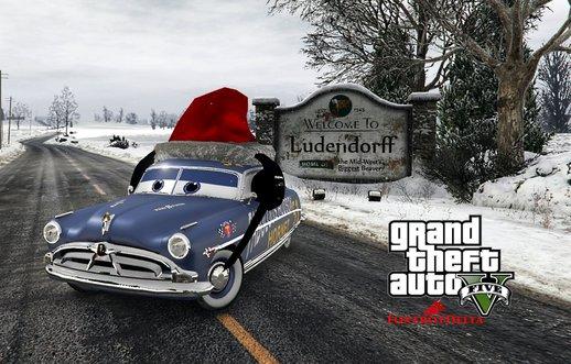 doc hudson disney cars christmas replace hq - Gta V Christmas