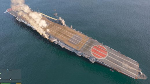 Hiryu Aircraft Carrier 1.1 (add-on)