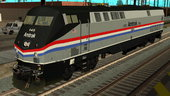 Passenger Locomotive GE P42DC Amtrak Phase III 40th Anniversary