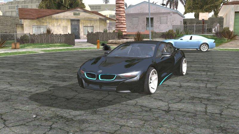 Gta San Andreas Bmw I8 Mod Gtainside Com