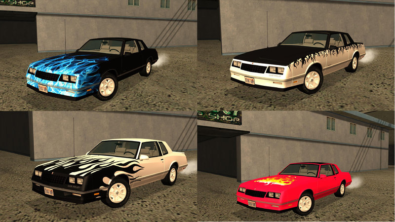 GTA San Andreas 1988 Chevrolet Monte Carlo SS Mod ...
