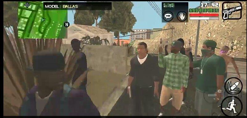 GTA San Andreas GTA V Peds Pack 1 Mod - GTAinside com