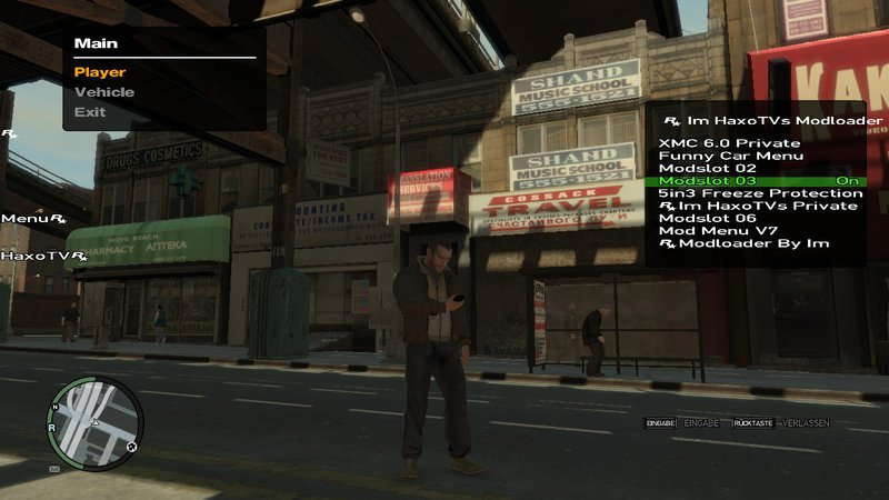 GTA 4 GTA 4 2018 Script Trainer Online/Offline By Im HaxoTV Mod
