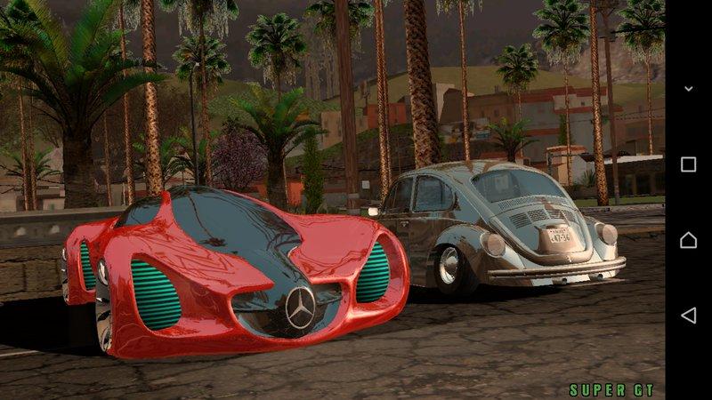 GTA San Andreas Mercedes Benz Biome Concept Mod - GTAinside.com