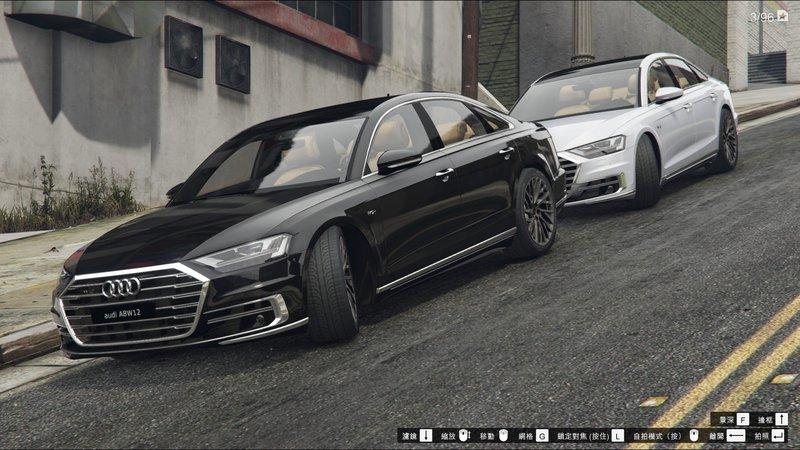 Gta 5 2018 Audi A8 W12 D5 Add On Mod Gtainside Com