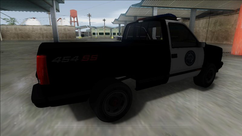 GTA San Andreas 1990 Chevrolet 454 SS C1500 Police Mod - GTAinside com