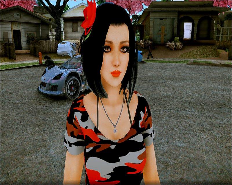 Skin Momiji Gta Sa: GTA San Andreas Momiji C Mod