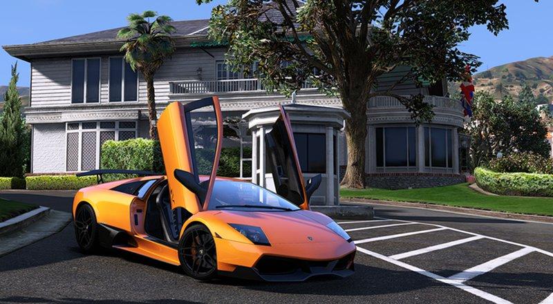 Gta 5 Lamborghini Murcielago Lp670 4sv Mod Gtainside Com